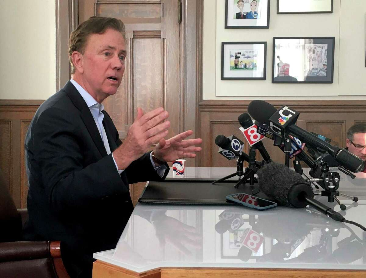 Gov. Ned Lamont showed rare anger in his office Thursday, announcing he's pulling the plug on the tolls plan at least for this year.