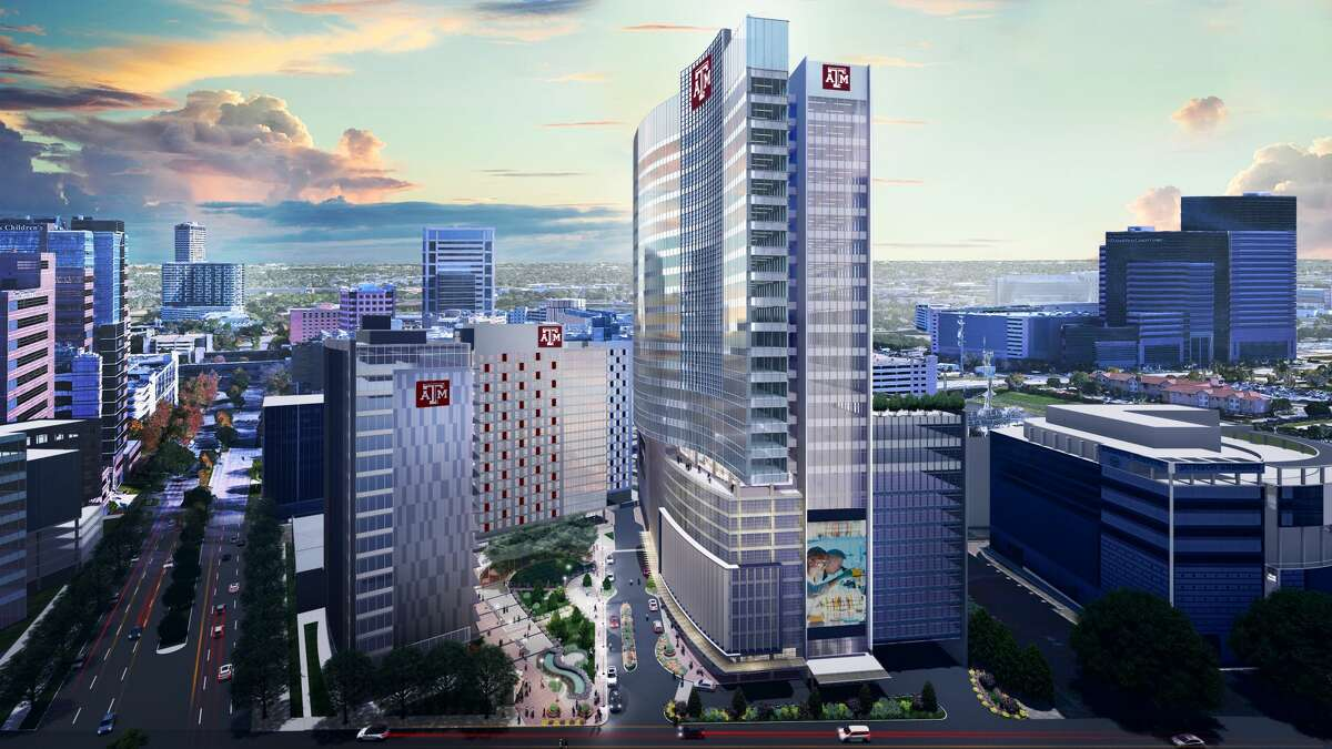 The Texas A&M University System plans to build a complex in the Texas Medical Center with a 19-story building for student housing, an 18-story academic building for its engineering medicine program and a 30-story medical office building.