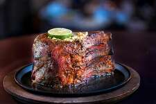 Perry's Steakhouse & Grille 9827 Katy Freeway At Perry's the steakhouse mainstays are enhanced to the finest detail with prime USDA-aged steaks, double-cut slab bacon and lobster tail halves. We have redefined dining with an experience that is truly Rare and Well Done. Lunch: $20, Dinner: $45