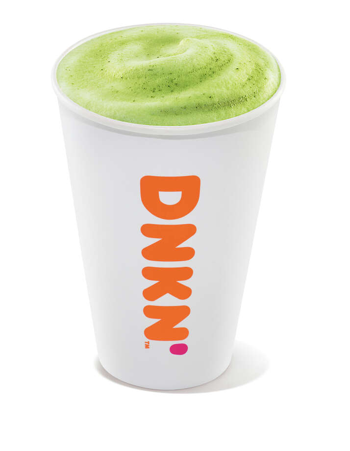 Hot matcha latte from Dunkin'. Photo: Dunkin'