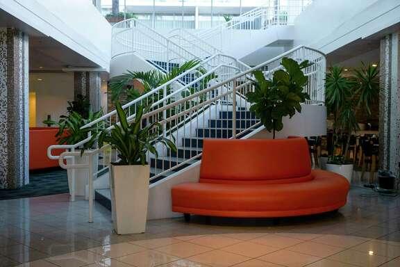 Inside the lobby of El Tropicano before renovations begin in the San Antonio hotel as seen on Feb. 13, 2020.