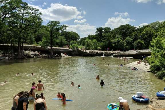 McKinney Falls State Park  5808 McKinney Falls Parkway, Austin, Texas  Things to do:  Fish and swim in Onion Creek, hike or bike on 9 miles of trail, picnic and camp at 81 different campsites.     Photo by: Colin S/Yelp