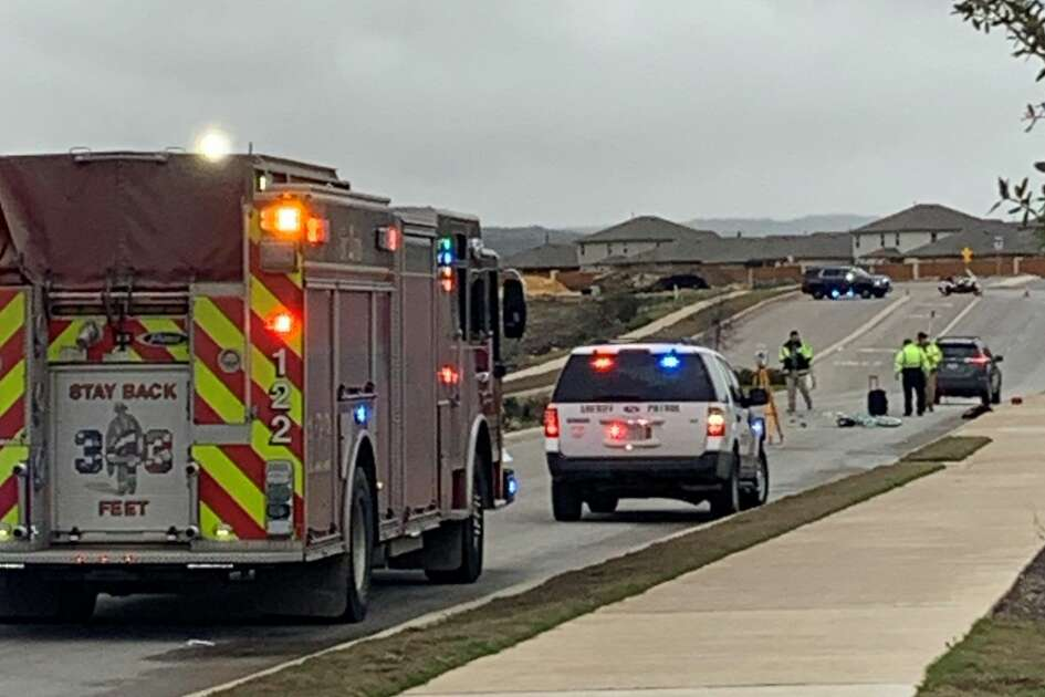 A 10-year-old girl died after she was hit by a car while riding her bicycle to school Thursday morning on the far West Side, according to the Bexar County Sheriff's Office.