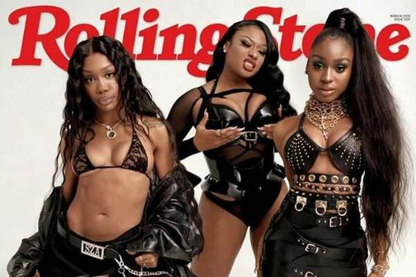 Houston's own hot girl, Megan Thee Stallion stars on the cover of Rolling Stone's second annual Women Shaping the Future issue, with SZA and Normani.