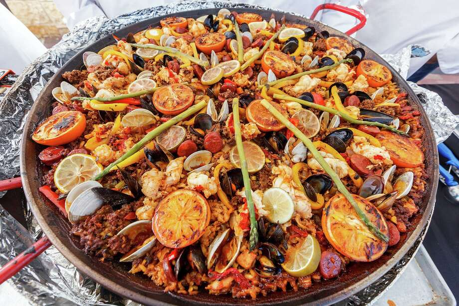 More than 30 chefs are expected to be in attendance at the 11th Annual Paella Challenge, a competition that celebrates one of Spain's most popular dishes. Photo: Marvin Pfeiffer /Staff File Photo / Express-News 2013