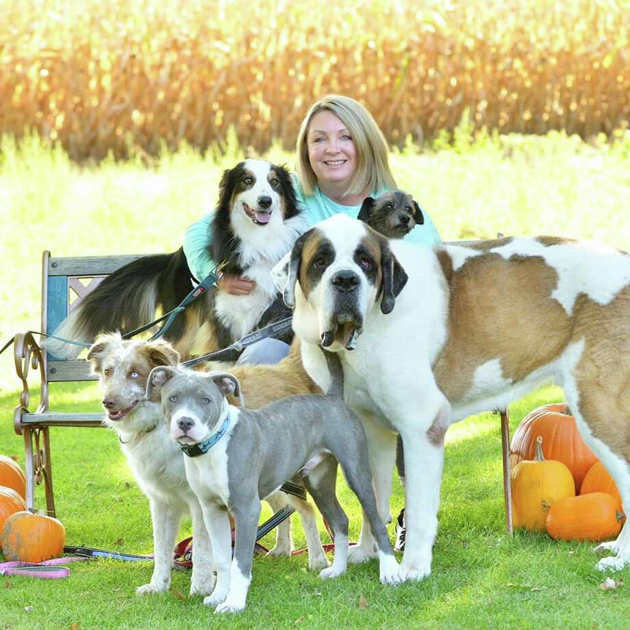 Me and my 5 pups. Cub, Keno, Rocky, Cheyenne and Clifford. Photo: Submitted By: Laura Dudgeon Ornelas