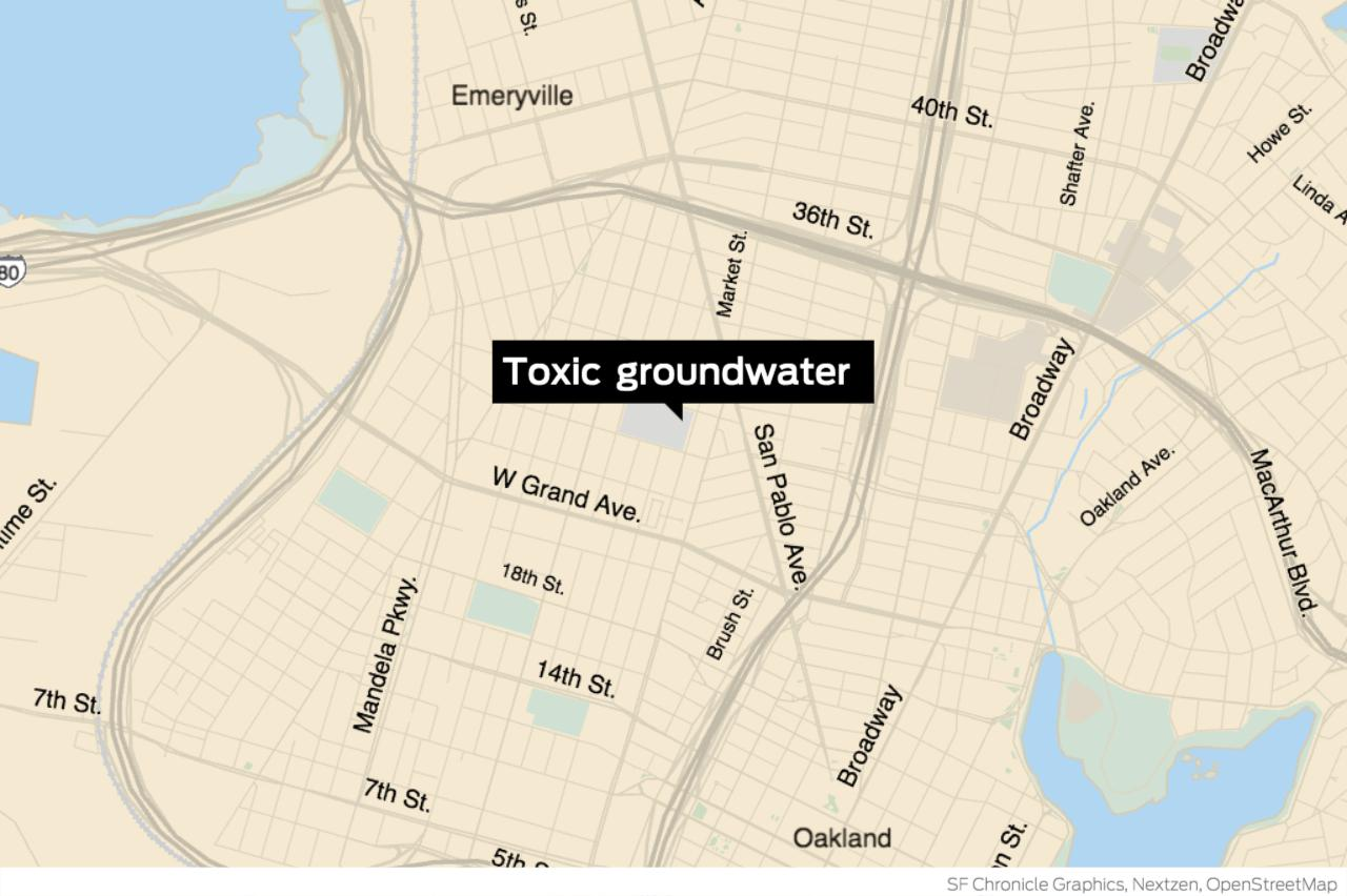 Oakland high school shut due to cancer-causing chemical found in groundwater