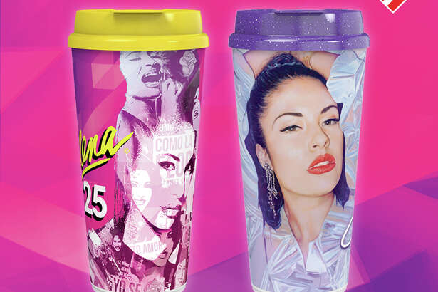 Stripes Stores will release two limited-edition, commemorative collectible cups featuring Selena, celebrating 25 years of the Music Star's legacy. The 2020 Selena commemorative collectible cups will be sold at participating Stripes stores in Texas.