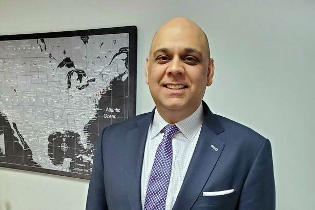 Manoj Wadhwani has been named president of Shelton-based Saisystems International.