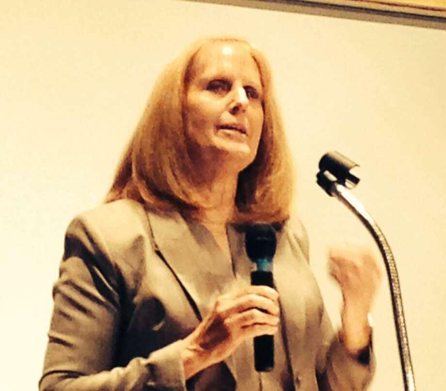 Former Westport Schools Superintendent Colleen Palmer. Photo: Linda Conner Lambeck / Linda Conner Lambeck
