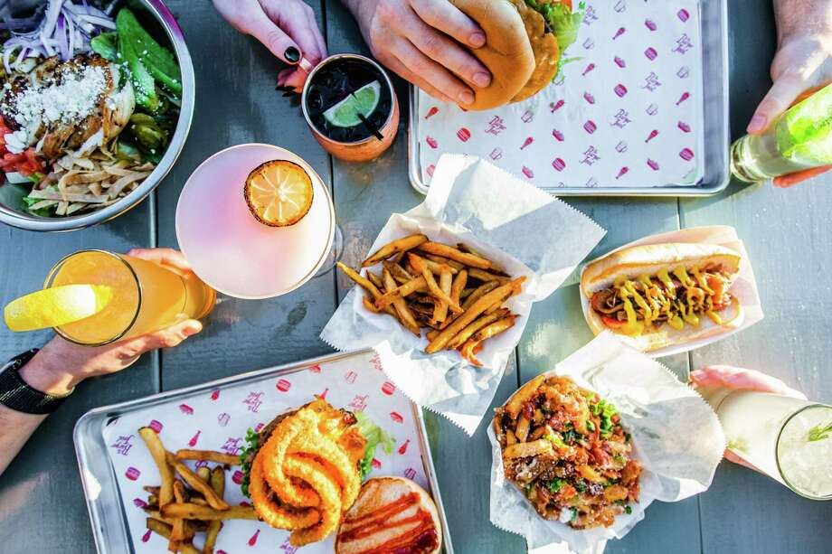 Check out the new Burger Joint Located at 2002 N. Shepherd, the chain's newest location features a patio and offers all of its classic burgers as well as hot dogs, sandwiches, burger bowls, fries and more. Photo: Becca Wright