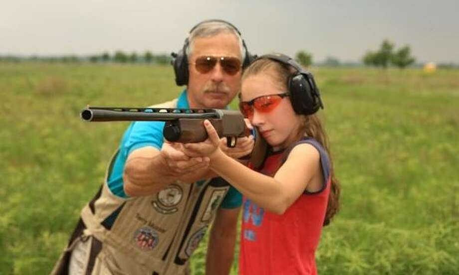 Image from previous wingshooting youth clinic held by the IDNR. Photo: Courtesy Of The IDNR