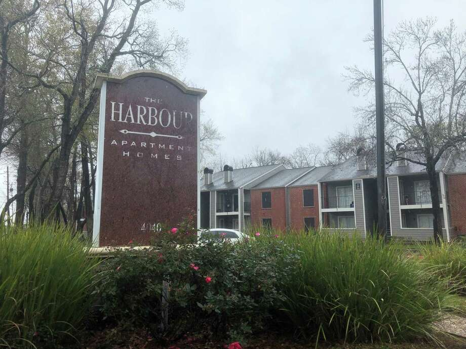 The Harbour Apartments is a residential complex and series of town homes at4040 Crow Road in Beaumont. Photo: Jacob Dick