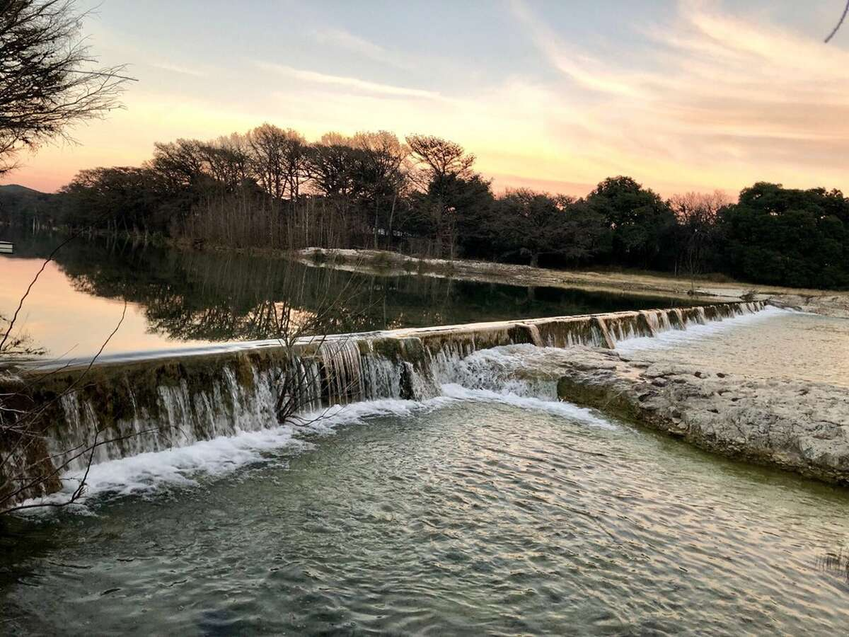Garner State Park234 RR 1050 Concan, Texas Travel down these picturesque lazy rivers for a spring break getaway with tubing, swimming, kayaking, sightseeing, or just a leisurely stroll soaking in the calm and tranquility nature has to offer in these Texas treasures. Photo by: Cesia R/Yelp