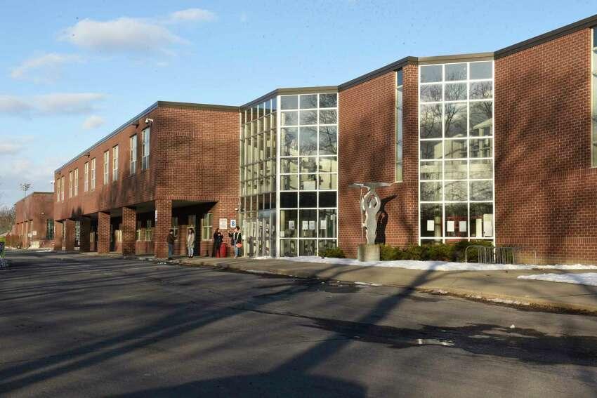 Schenectady High School. (Lori Van Buren/Times Union)