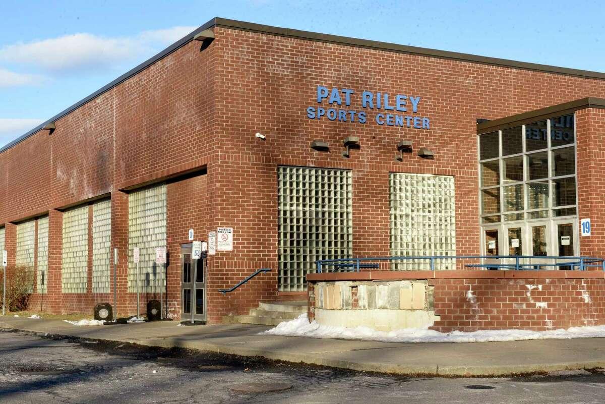 Exterior of Schenectady High School on Thursday, Feb. 20, 2020 in Schenectady, N.Y. (Lori Van Buren/Times Union)