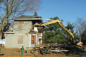 This house was knocked down on Catoonah Street in 2016.