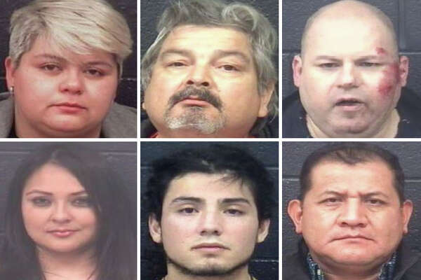 Click through the gallery to see the DWI arrests in Laredo during January 2020.