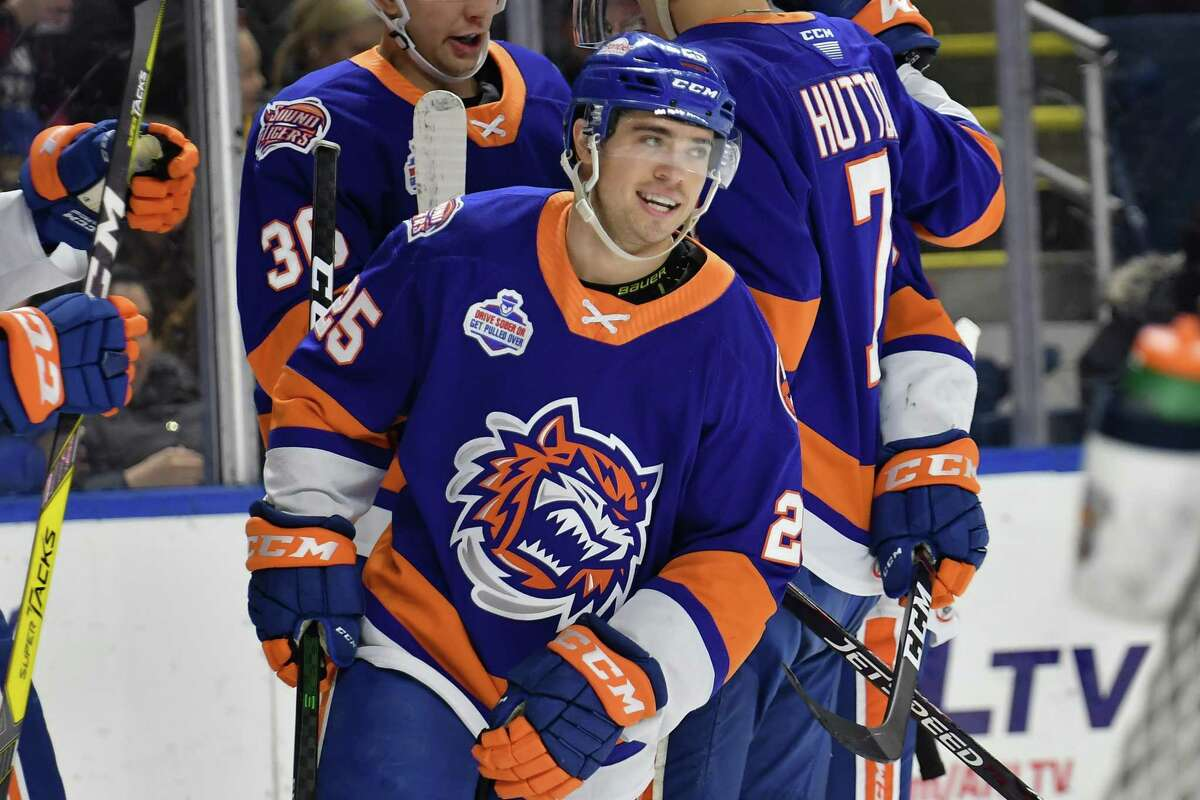 The Bridgeport Sound Tigers will play in a division with just two othe teams this season - Hartford and Providence.