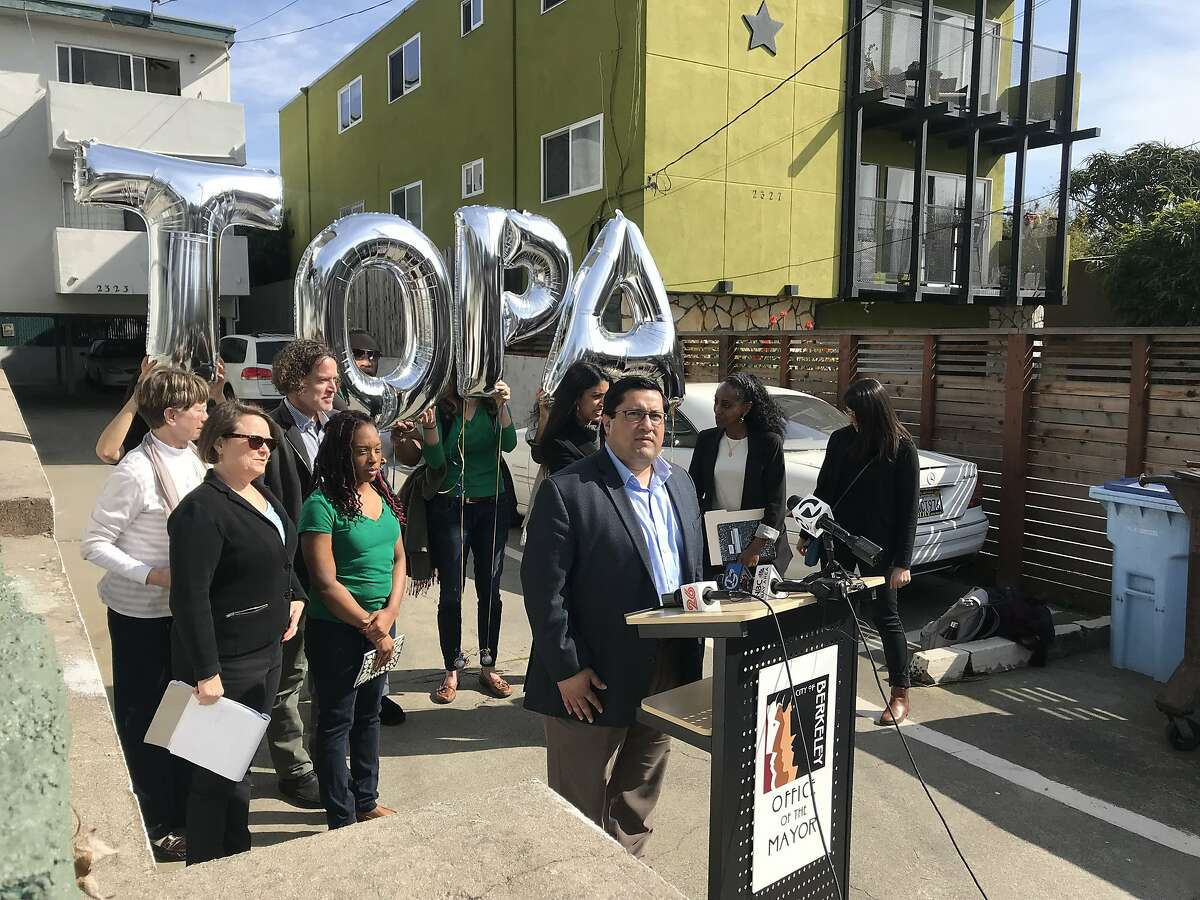 Berkeley Mayor Jesse Arreguin introduced an ordinance Thursday that gives tenants the first right of refusal in purchasing the properties they live in. The ordinance applies to all rental properties in Berkeley.