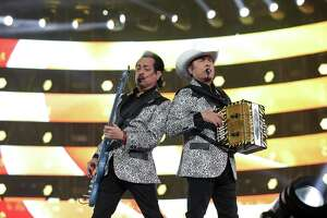 Los Tigres del Norte perform at the Houston Livestock Show and Rodeo Sunday, March 10, 2019, in Houston.