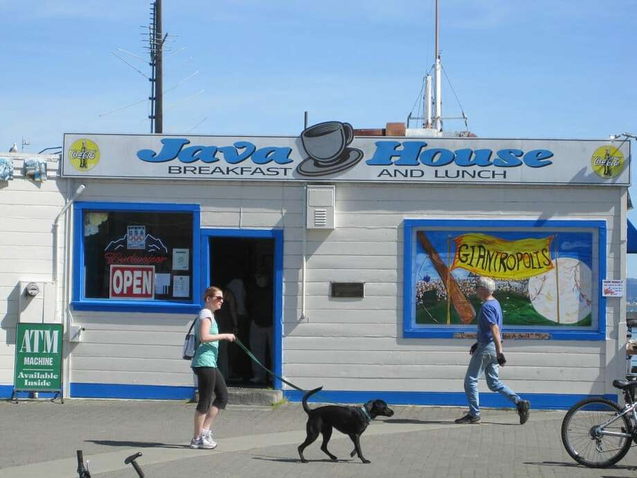 Java House, a historic restaurant on the San Francisco waterfront, is going through a rebrand. Photo: Kevin Y. Via Yelp