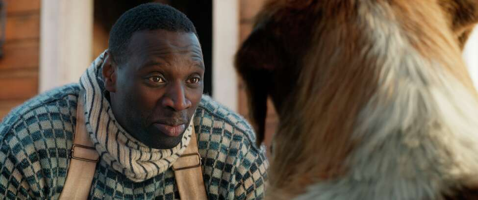 This undated image provided by 20th Century Fox shows actor Omar Sy in a scene from the film