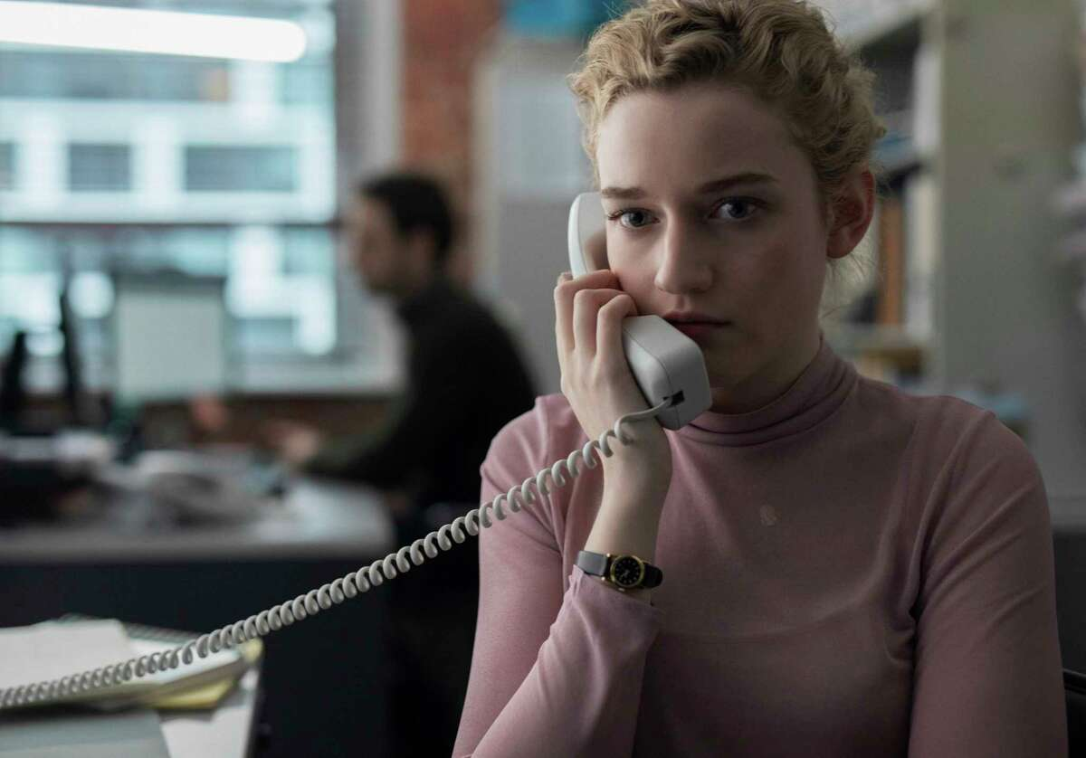 This image released by Bleecker Street shows Julia Garner in a scene from