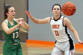 The Ubly girls basketball team claimed an outright league championship with a 50-24 victory over Brown City on Thursday, Feb. 20.
