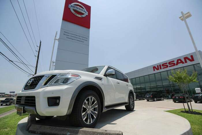 A view of the Central Automotive Group new 163,000-square-foot Nissan dealership, 2901 S Loop W Tuesday, June 11, 2019, in Houston.