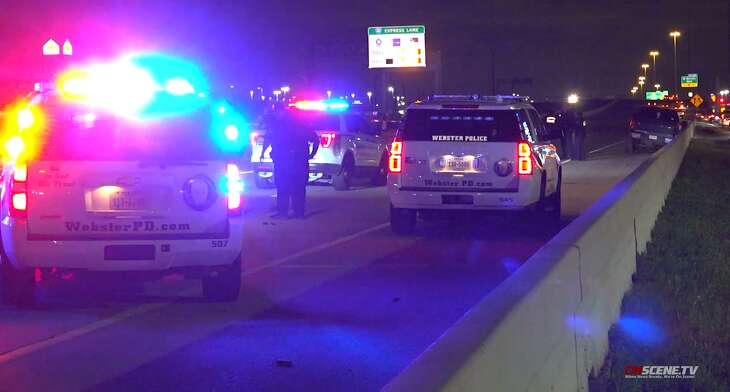 A suspect fatally shot himself Thursday while leading police on a chase from League City, authorities said.