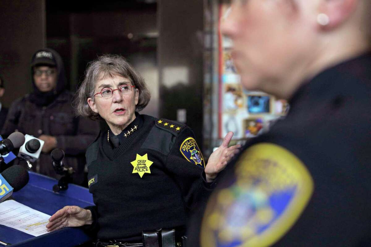 Oakland Police Chief Anne Kirkpatrick has been at odds with the Police Commission for months.