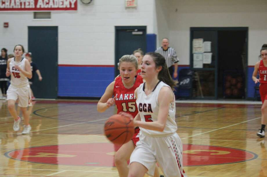 Crossroads was too much for Bear Lake on Thursday in a 50-15 girls basketball victory Photo: John Raffel