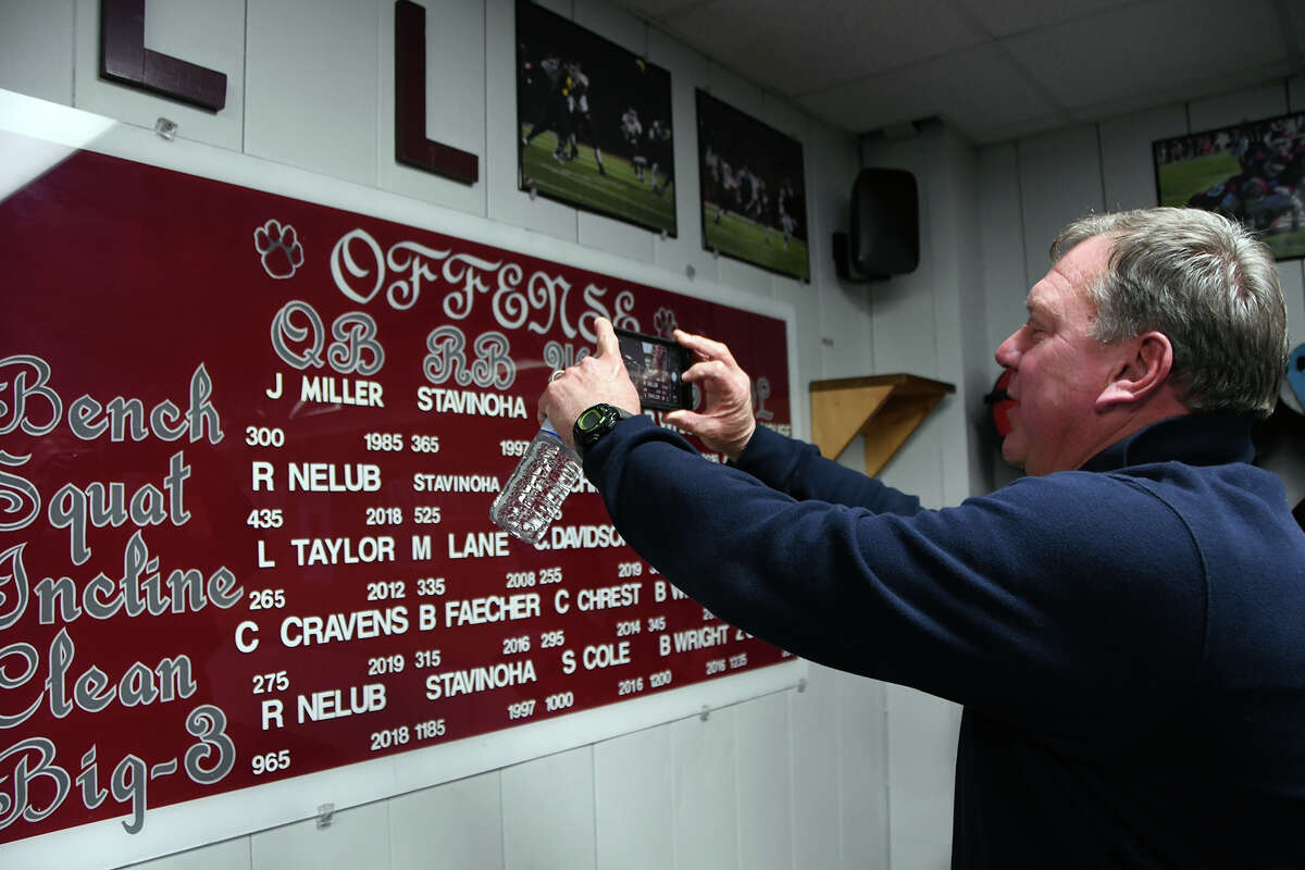 PHOTOS: Houston's top 100 high school football recruits in Class of 2020  New Cy-Fair High School Campus Athletic Coordinator and Head Football Coach Jeff Miller takes a photo of his name on the record board in the weight room. The former standout quarterback and punter helped lead the 1985 football team to the Class 5A state semifinals before playing collegiately at the University of Nebraska and University of Louisiana at Lafayette. >>>See a ranking of the top 100 high school football recruits in the Class of 2020 ...