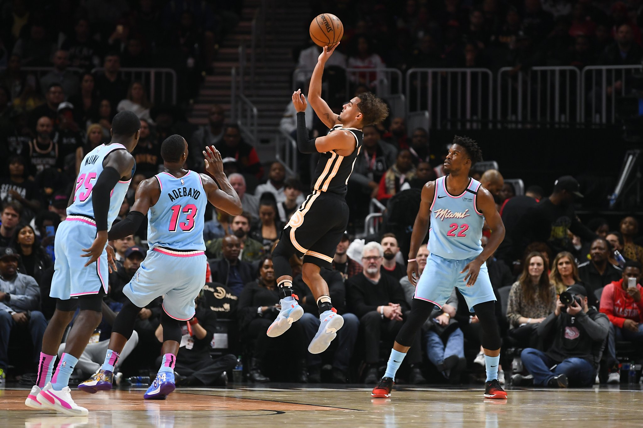 Trae Young scores career-high 50 points, Hawks beat Heat