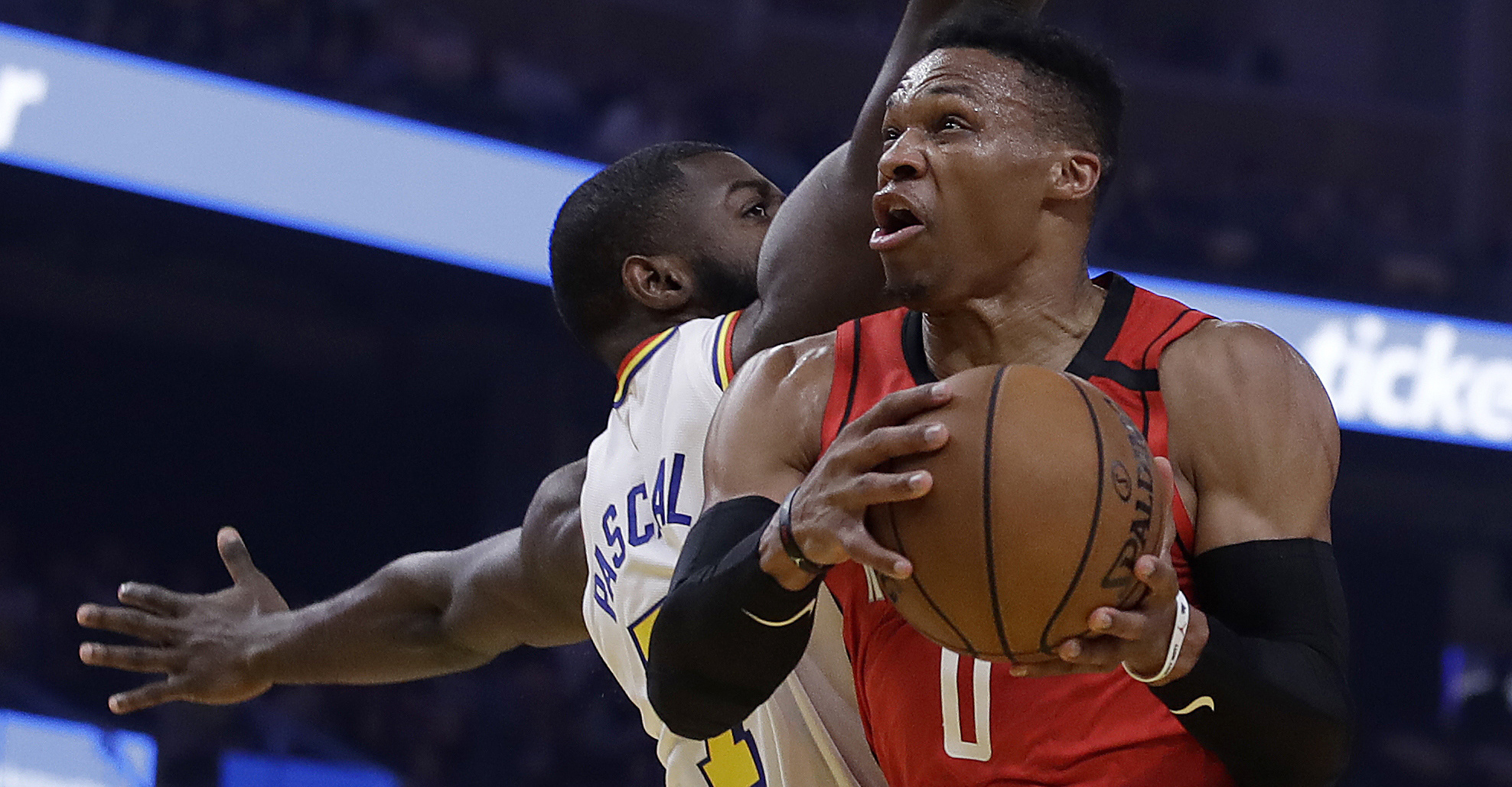 Rockets clobber Warriors in revenge game