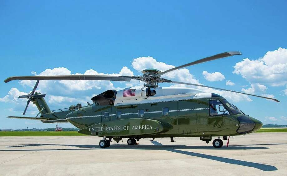 A VH-92A helicopter on the tarmac at Naval Air Station, Patuxent River, Md. (Photo via U.S. Navy). Photo: Lockheed Martin Corporation / Lockheed Martin Corporation
