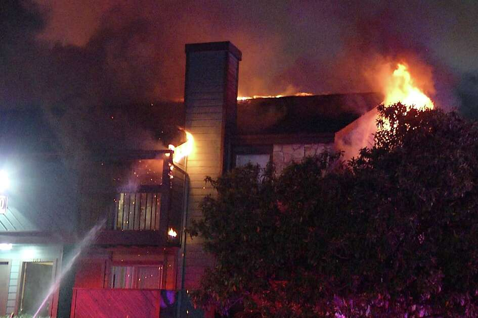San Antonio firefighters battled multiple blazes across the city Friday morning.