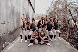 Brandie Perry of Bee Photography captured these images of dancers from Beaumont iRule Dance Studio. The images of the young friends eventually went viral.