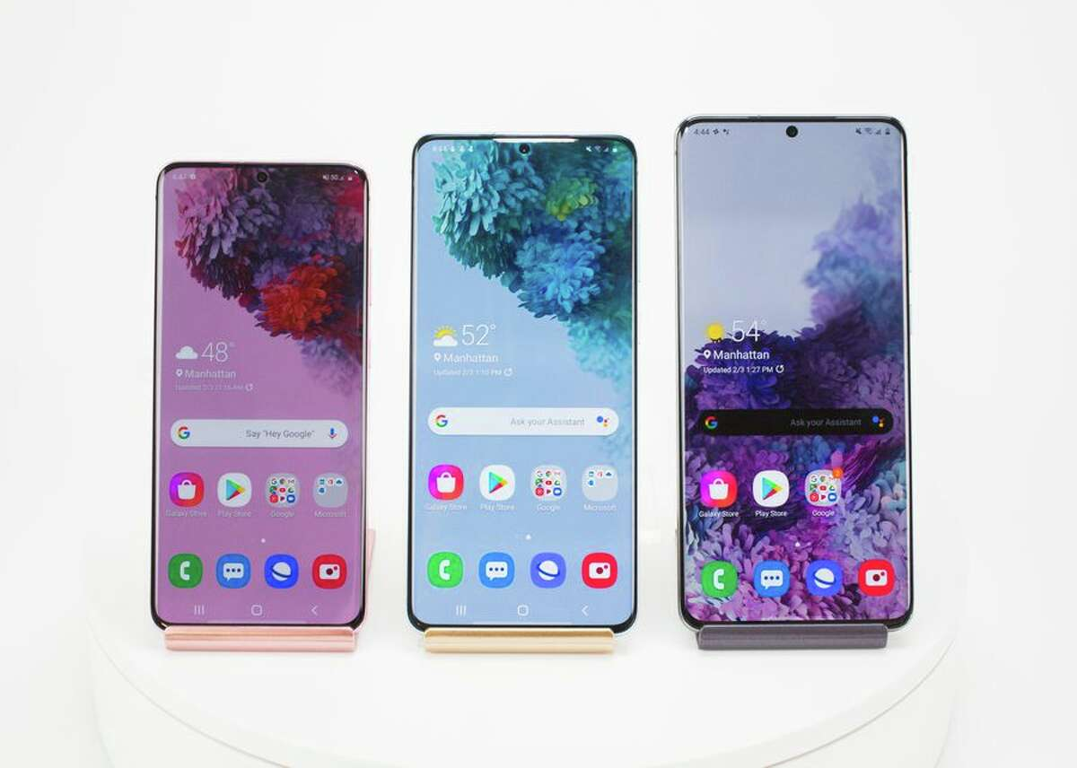 As Samsung's flagship phones for 2020,all three Galaxy S20 deviceshave 5G. They also have brilliant 120Hz AMOLED displays (in 6.2-, 6.7- and 6.9-inch sizes), reverse wireless charging and a water-resistant design. TheGalaxy S20has three rear cameras while thePlusandUltrahave a fourth time-of-flight camera too.