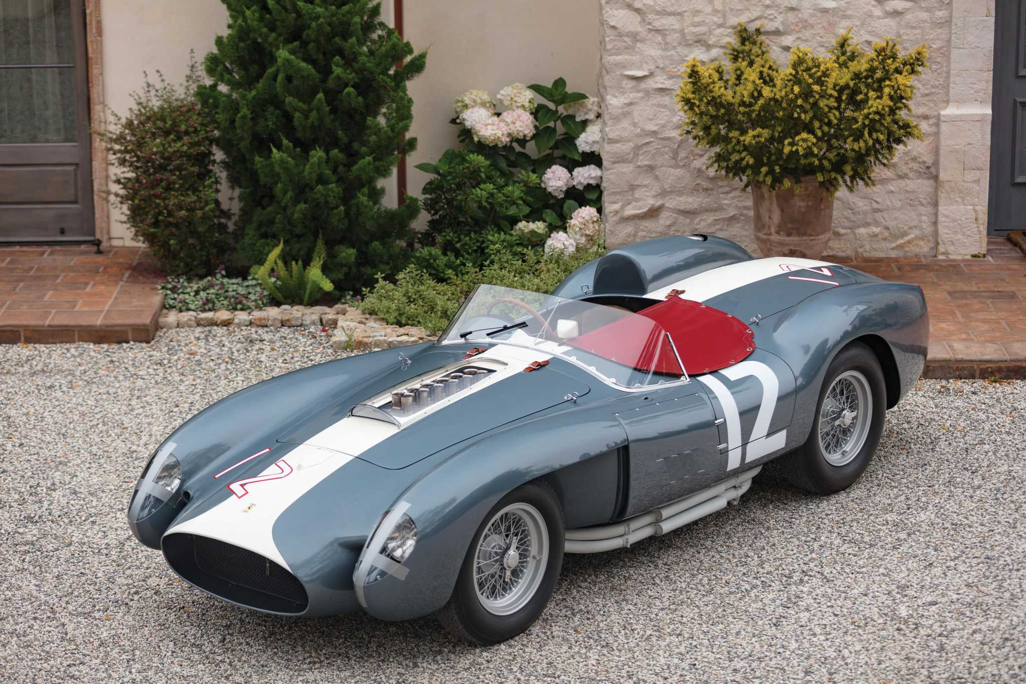 Rare Ferrari 335 S Spyder wows, wins global 'Best of the Best' honors