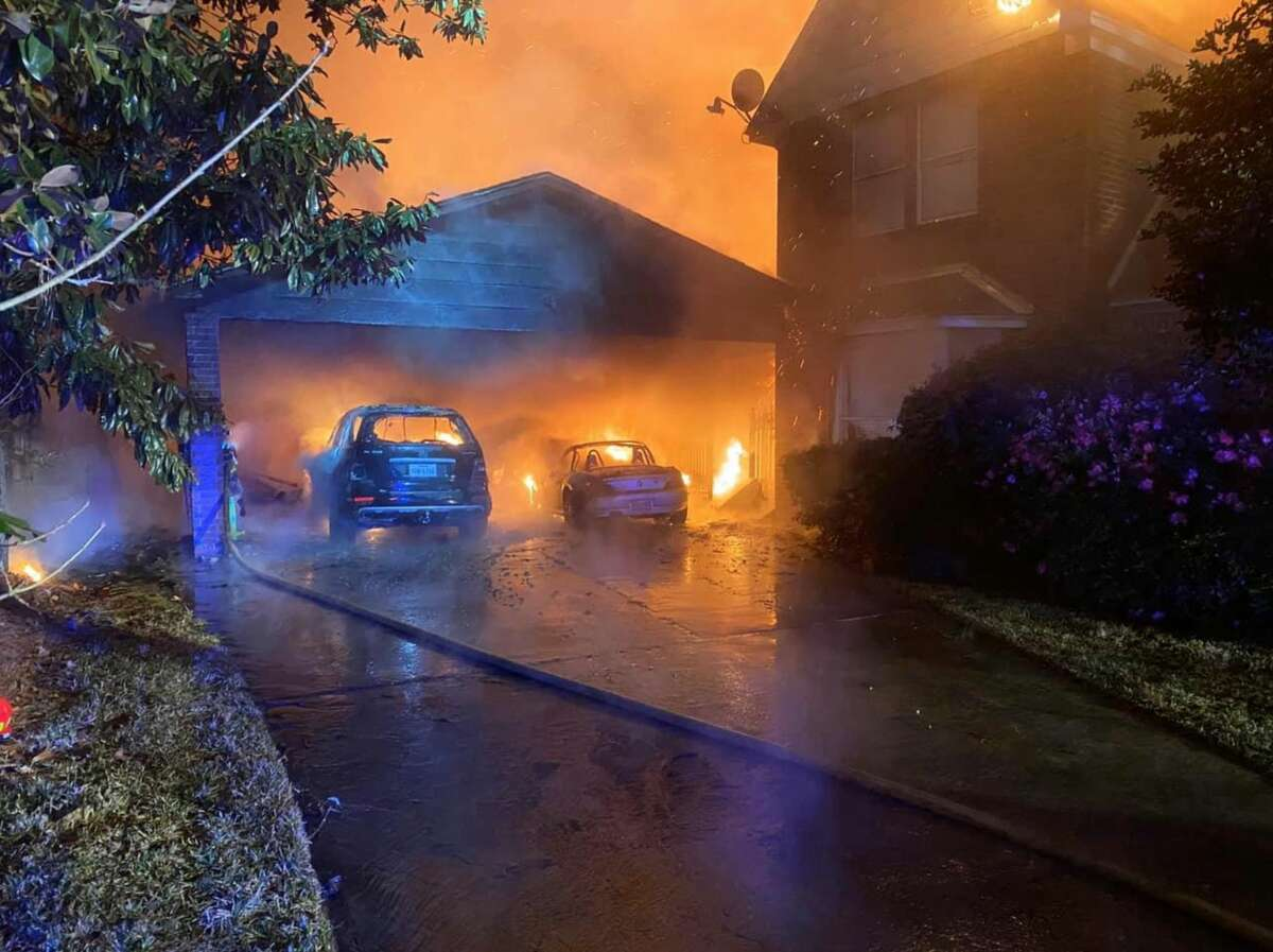 What sparked the blaze is unclear. No injuries were reported.