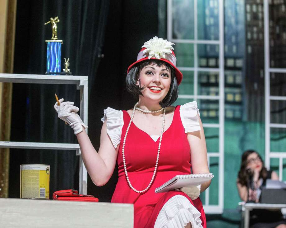 """Lizzie Camp as Millie Dillmount in Stage Right's """"Thoroughly Modern Millie"""" at the Crighton Theatre. The show continues through March 1. Photo: Photo By Dave W. Clements"""