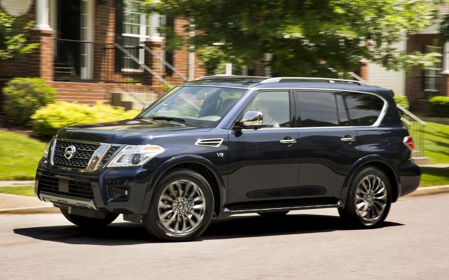 Nissan's biggest and fanciest SUV, the Armada, is available with Switch's premium tier. Photo: Nissan Photo