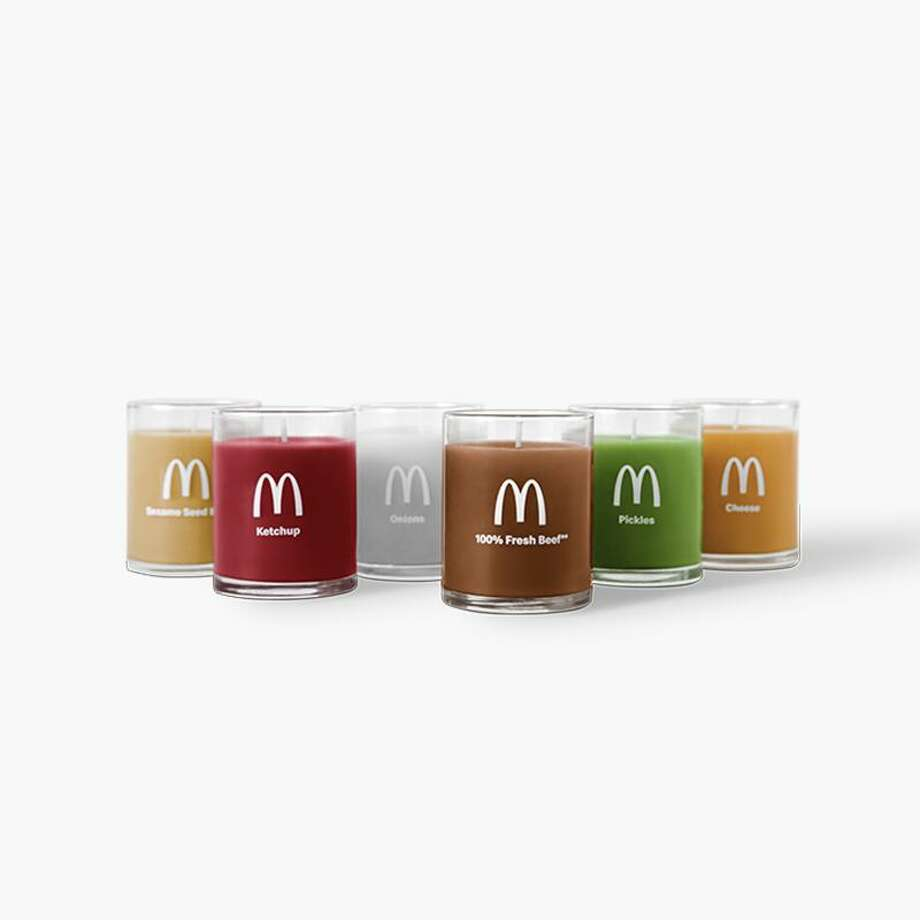 GoldenArchesUnlimited.com unveiled a set of candles that smells like a Quarter Pounder from McDonald's. Photo: McDonald's / Kristin Gladney