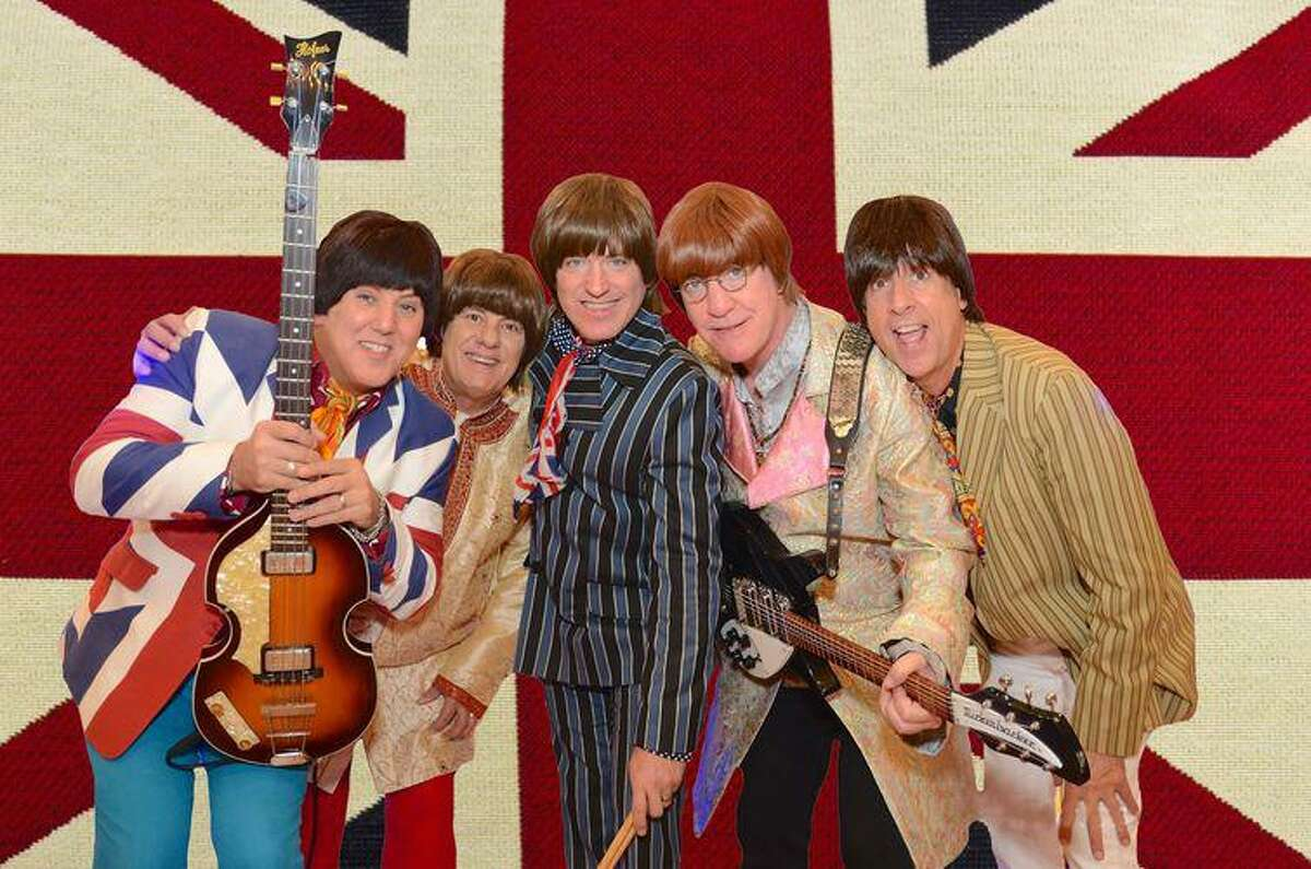 The Fab 5 Beatles tribute group will perform on Feb. 28 at the Pacific Yardhouse.