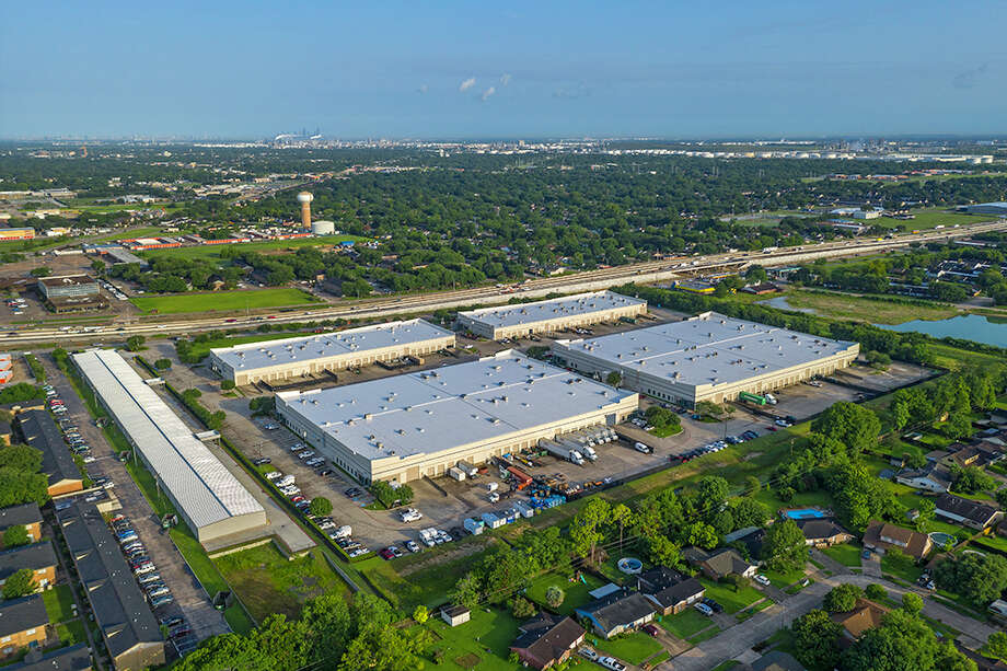 The East Belt Business Park, a four-building industrial project totaling 350,000 square feet at 1455-1485 E. Sam Houston Parkway South in Pasadena, caters to tenants of various sizes. Photo: JLL