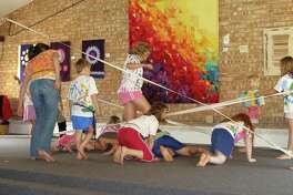 Kidsplay duringa summer camp at Creative 360. (Photo provided)