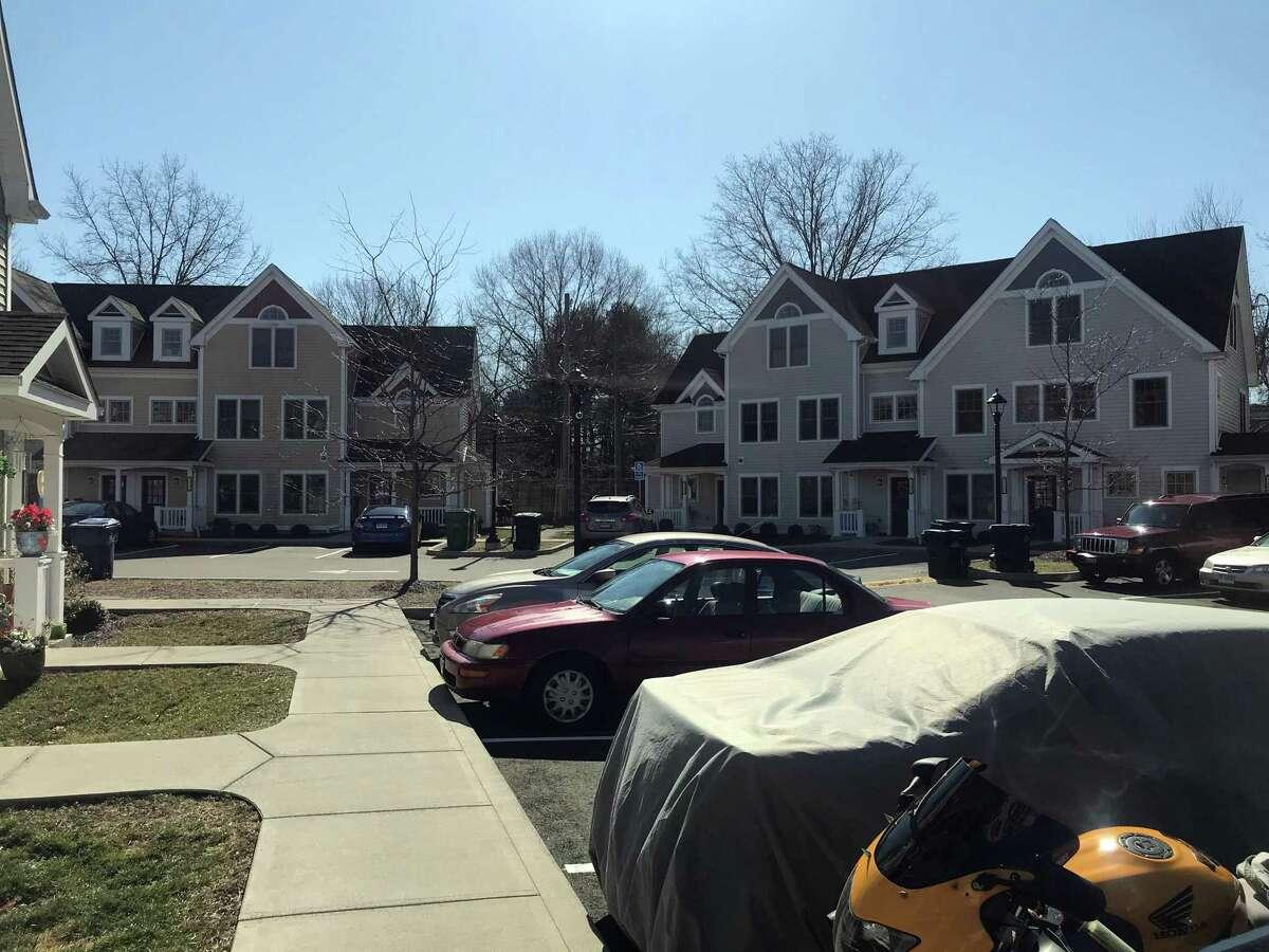 A variety of housing units in Sasco Creek Village. Taken Feb. 21, 2020 in Westport, Conn.