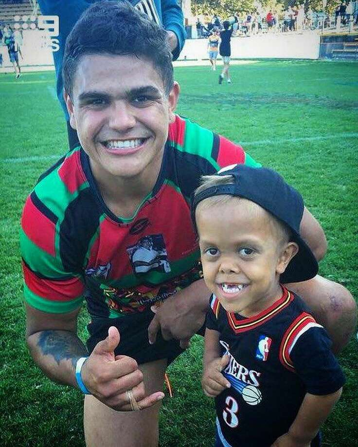 Quaden Bayles has gotten support from Australia's National Rugby League. Photo: National Rugby League/Twitter